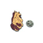 """""""Heart in Hand"""" Medical Lapel Pin"""