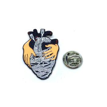 """Heart in Hand"" Medical Doctor Lapel Pin"