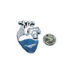 Fish Heart Medical Lapel Pin
