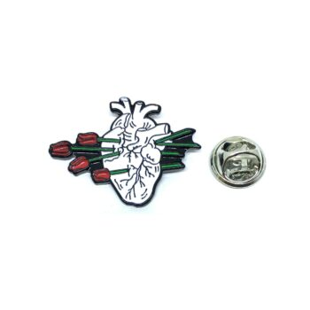Body Heart Care Lapel Pin