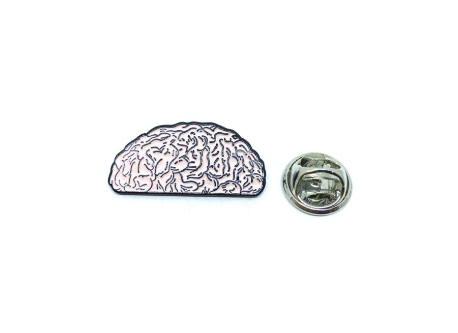 Body Mind Lapel Pin
