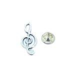 Treble Clef Music Lapel Pin