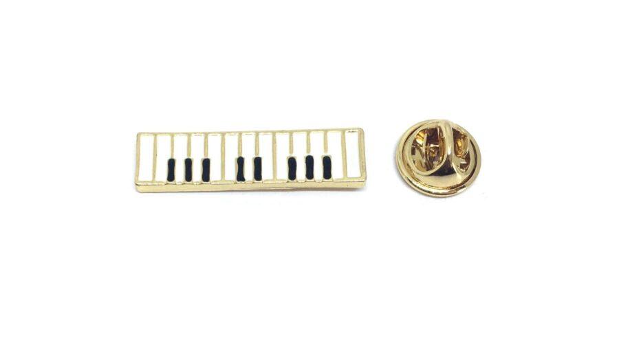 Piano Music Lapel Pin