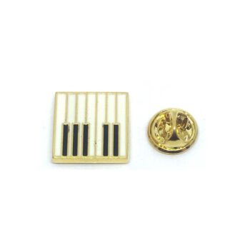 Piano Lapel Pin