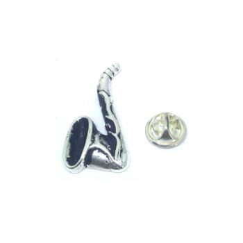 Saxophone Music Lapel Pin
