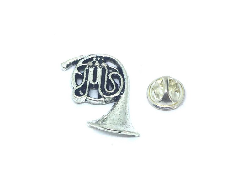 French Horn Music Lapel Pin