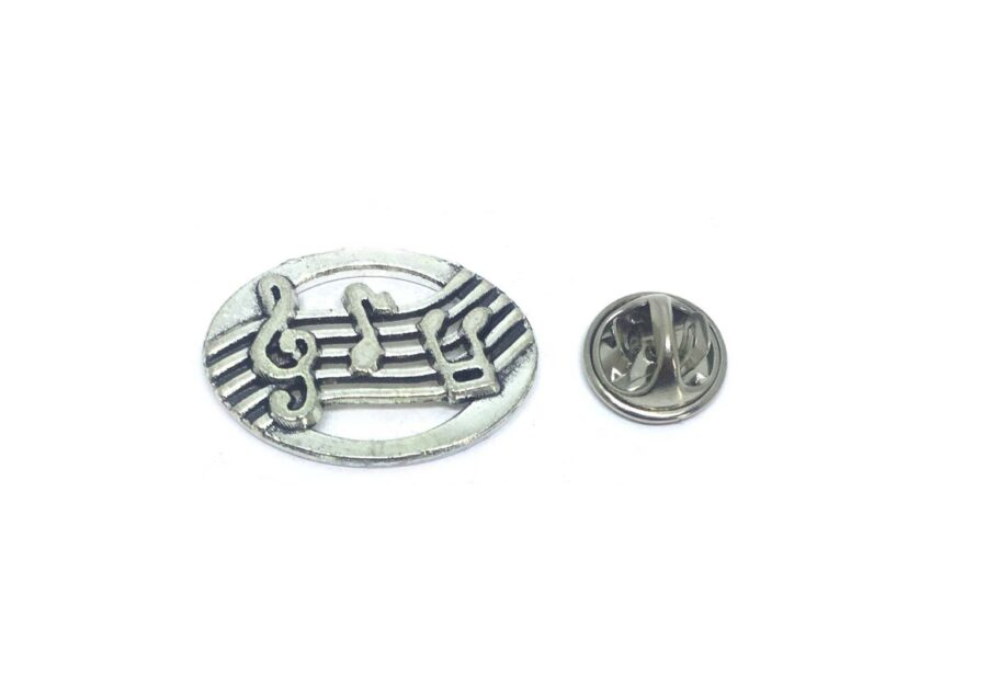 Music Note Lapel Pin