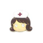 Nurse Head Lapel Pin