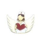 Angel Nurse Lapel Pin