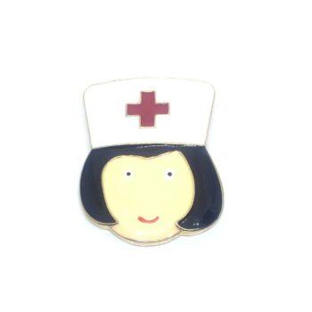 Enamel Nurse Lapel Pin