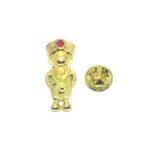 Gold plated Nurse Lapel Pin