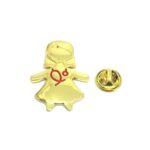 Gold tone Nurse Lapel Pin