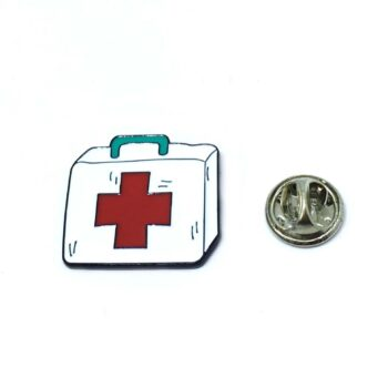 Plus sign Nurse Enamel Pin