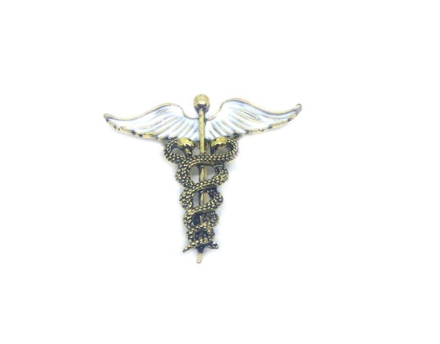 Enamel Medical Symbol Lapel Pin
