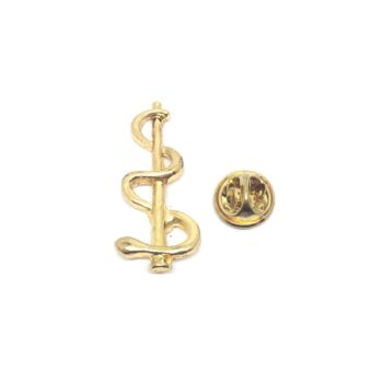 Nurse Medical Symbol Lapel Pin