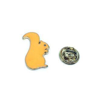 Squirrel Enamel Pin