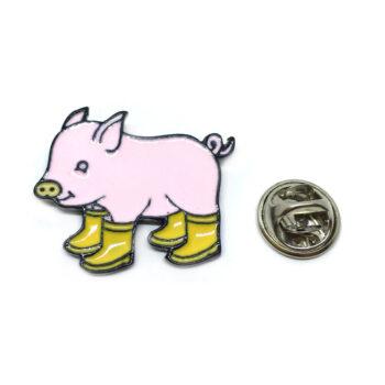 Pig Animal Lapel Pin