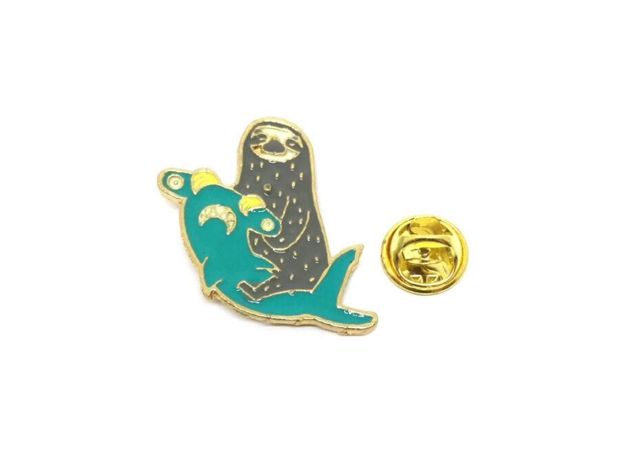 Ringed Seal Lapel Pin