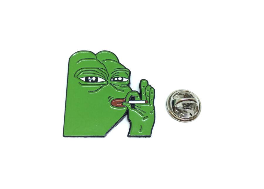 Frog Enamel Lapel Pin