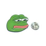 Enamel Frog Lapel Pins