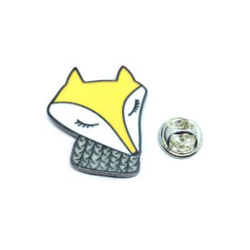 Animal Enamel Lapel Pins