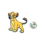 Tiger Enamel Lapel Pin