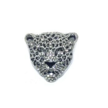 Tiger Head Lapel Pin