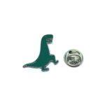 Green Enamel Dinosaur Lapel Pin