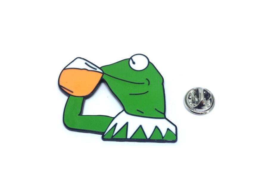 Drinking Frog Lapel Pin