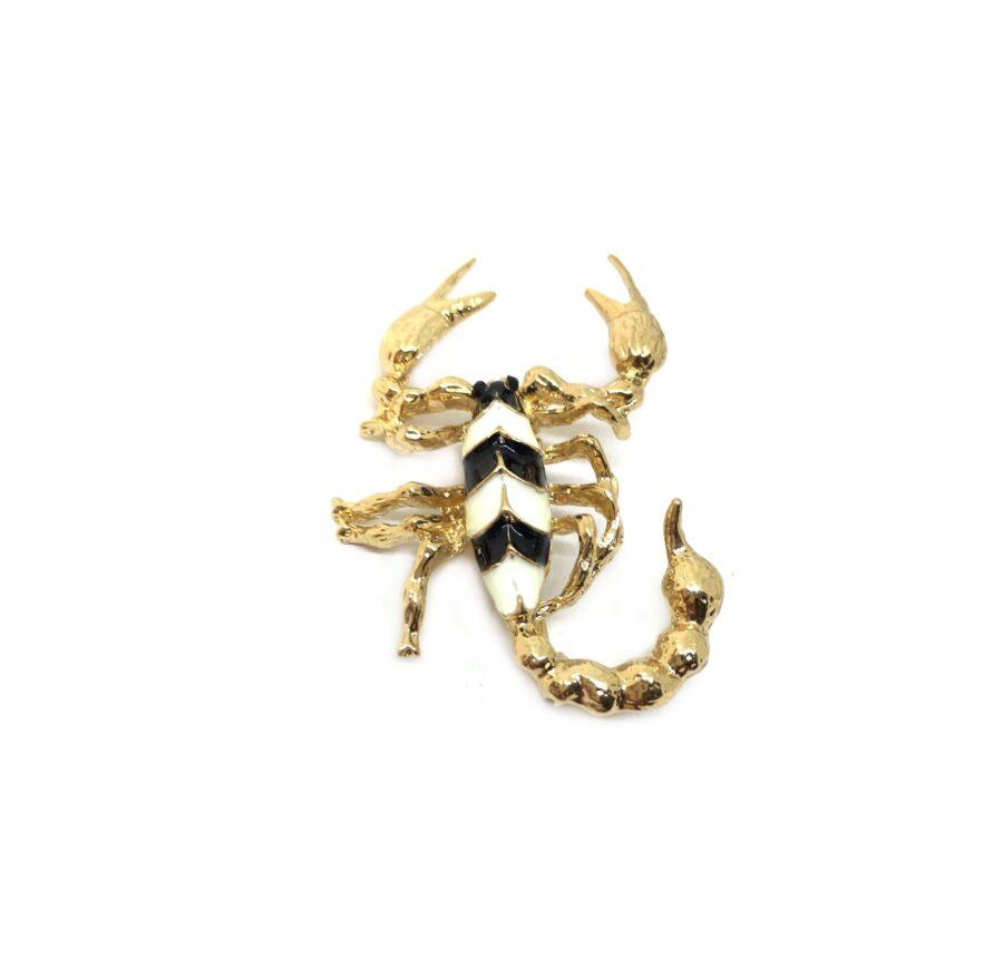 Enamel Scorpio Lapel Pin