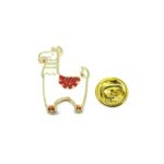 Gold plated Camel Lapel Pin