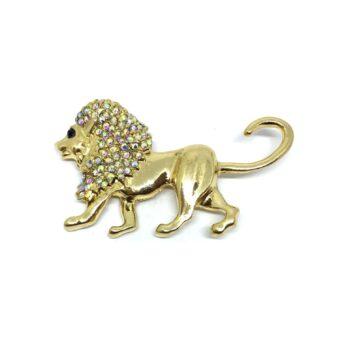 Lion Brooch Pin