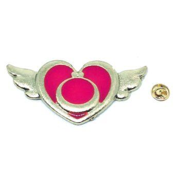 Enamel Angel Lapel Pin