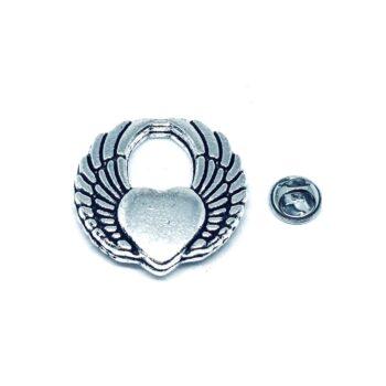Silver tone Angel Wing Pin