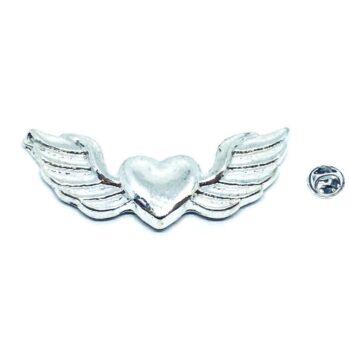 Angel Wing Lapel Pin