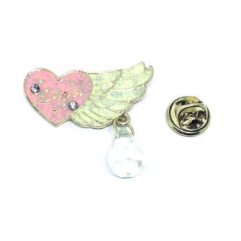 Enamel Angel Pin
