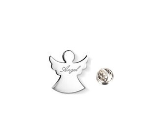 Silver plated Angel Pin