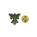 Bronze Angel Wing Lapel Pin