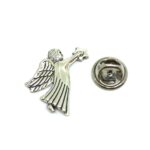 Silver plated Angel Lapel Pins
