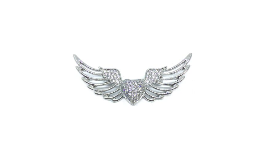Angel Wing Brooch Pin
