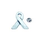 Silver plated Awareness Lapel Pin