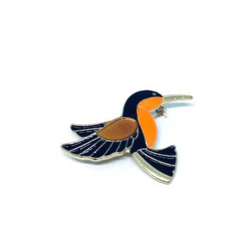 Bird Enamel Pin