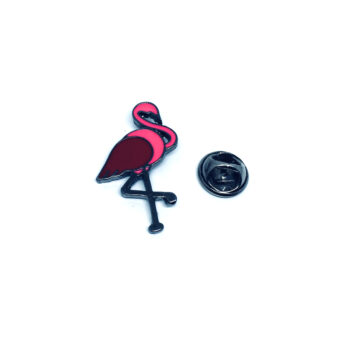 Flamingo Bird Enamel Pin