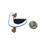 Enamel Bird Lapel Pin