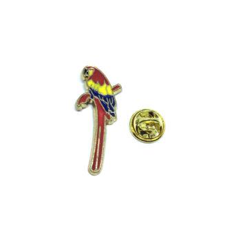 Parrot Bird Lapel Pin
