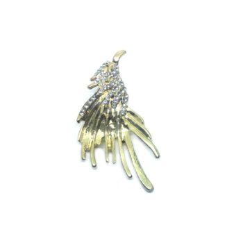 Phoenix Bird Lapel Pin