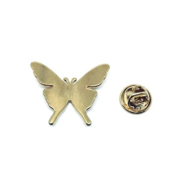 Gold plated Butterfly Lapel Pin