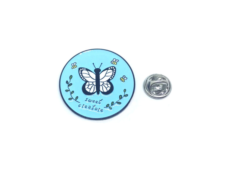 Sweet Creature Butterfly Lapel Pin