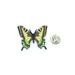 Multicolor Enamel Butterfly Lapel Pin