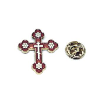 Cross Enamel Pin